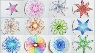 Spirograph designs Compilation