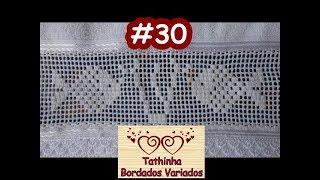 PONTO CRIVO COM CORTE – BORDADO – TATHINHA BORDADOS