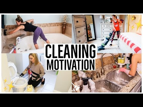 ENTIRE HOUSE CLEANING MOTIVATION FOR NEW YEAR'S! BEST CLEAN WITH ME VIDEOS 2018