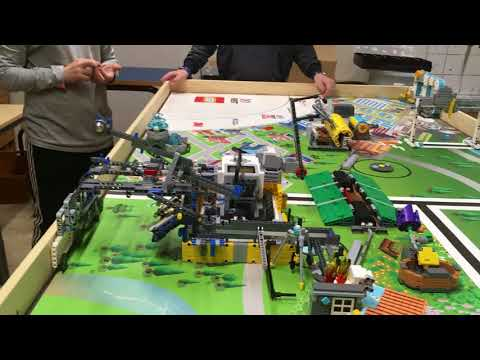 FLL Hyrdro Dynamics Robot   Team Optimum