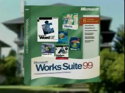 Microsoft Works Suite 99