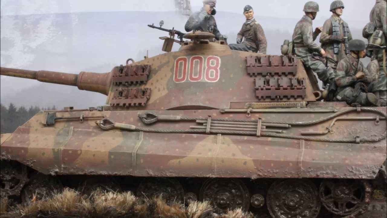 Tamiya King Tiger Ardennes 1 35 Scale Ww2 Diorama Youtube