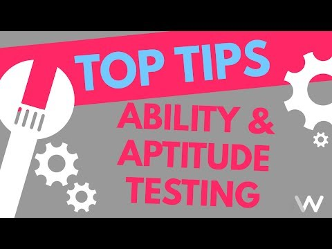 What are Ability Tests and Aptitude Tests - Top Tips