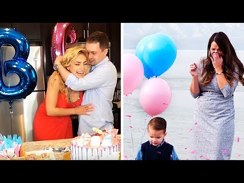 THE BEST REACTIONS FROM GENDER REVEALS | COMPILATION
