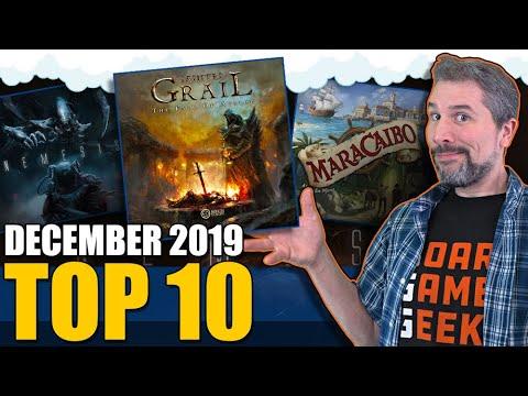 Top 10 Hottest Board Games: December 2019