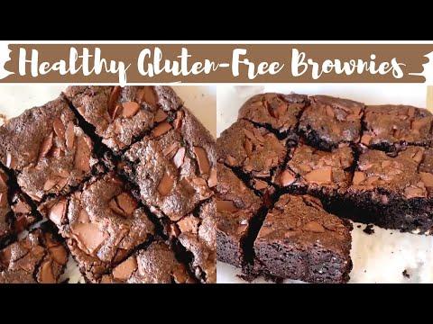 HEALTHY BROWNIE RECIPE, gluten free, refined sugar free, no maida brownies| healthy baking recipes