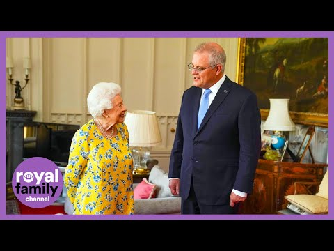 'Oh Lord, Really?!' The Queen Banters with Australian Prime Minister at Windsor Castle