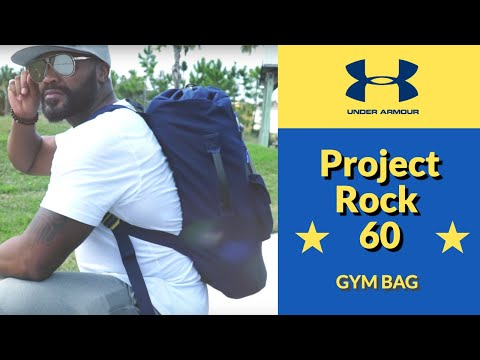 Under Armour Project Rock 60 Gym Bag - (FULL REVIEW)