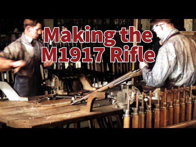 Making the M1917 Rifle - From Forge to Finish