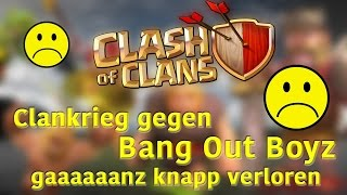 Oh Nein, Clankrieg verloren || CLASH OF CLANS || Let´s Play Clash of Clans [Deutsch/German]