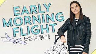 My Early Morning Flight Routine! | Ingrid Nilsen
