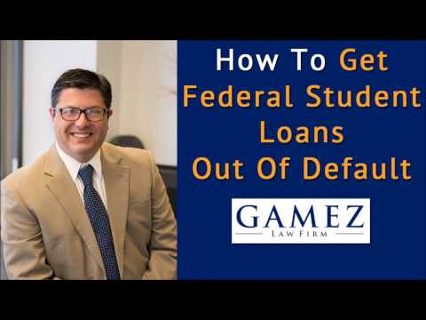 how-to-get-federal-student-loans-out-of-default