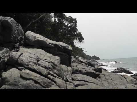 A visit to the rocher du loup touristic site (HD), kribi