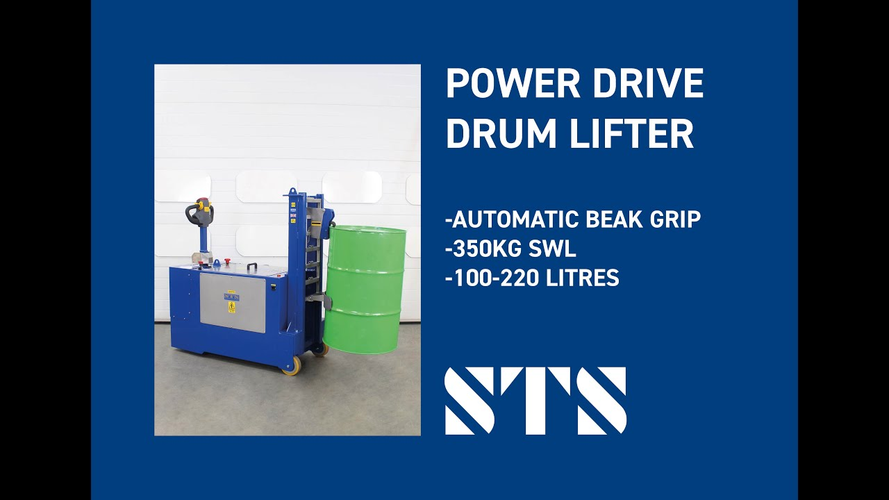 Powerdrive Drum Lifter / Handler