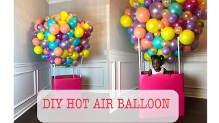 DIY Balloon Hot Air Ballon Tutorial