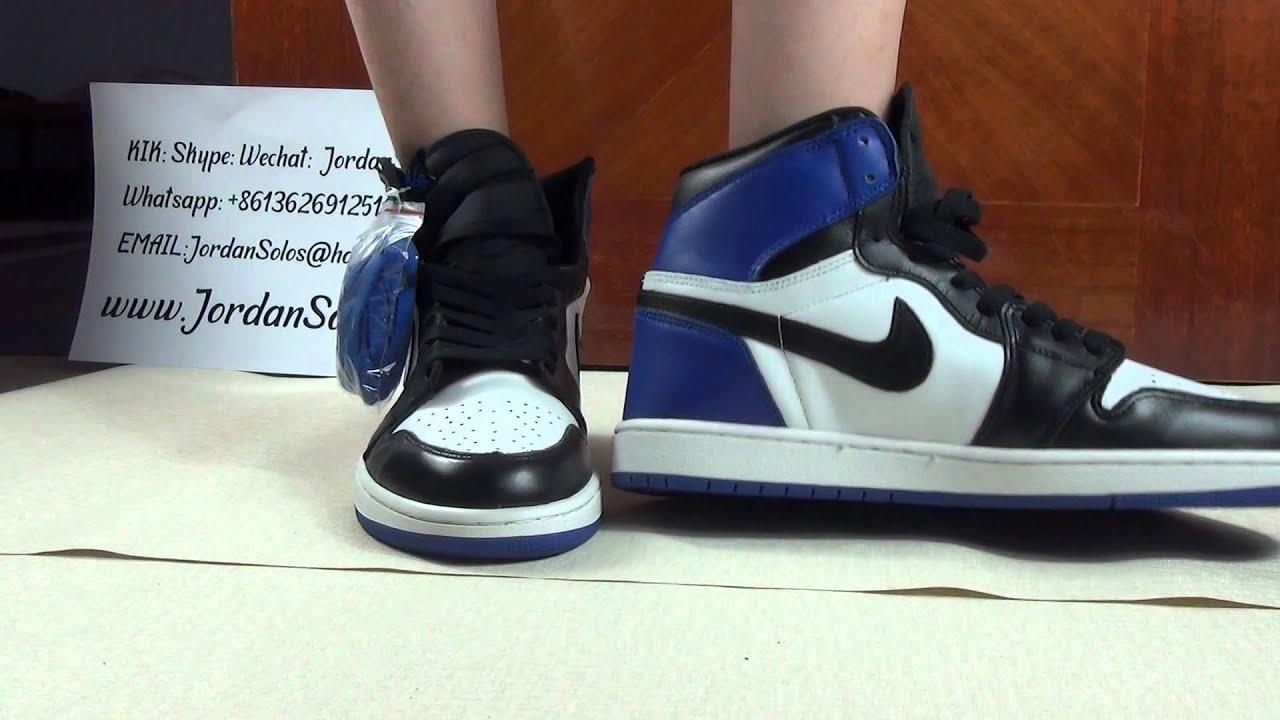 Air Jordan 1 Fragment Email Faux
