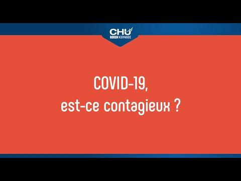 COVID-19, est-ce contagieux ?