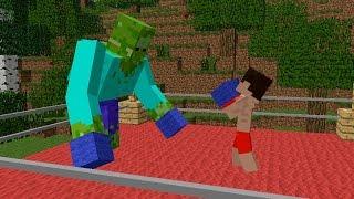 Monster School: Boxing - Minecraft Animation