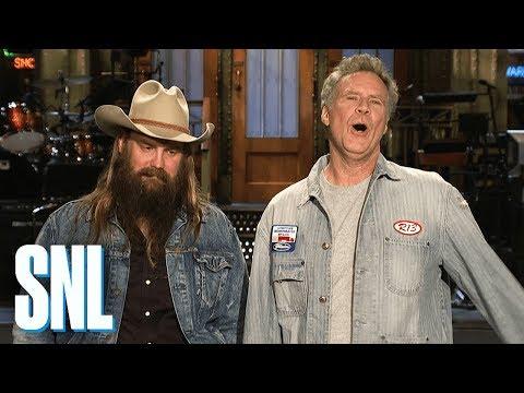 Will Ferrell & Chris Stapleton Love a Good Wine - SNL