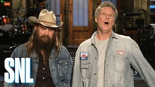 Will Ferrell & Chris Stapleton Love a Good Wine - SNL