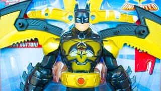 Batman Unlimited Toys Wing Warrior Batman DC Comics by Mattel