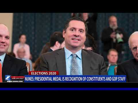 Rep. Nunes: Presidential Medal is recognition of constituents and GOP staff