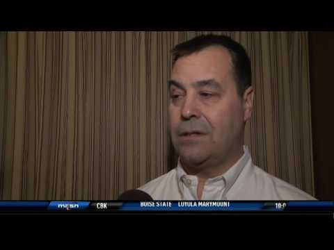 Dan Duquette after Day 1 of Winter Meetings