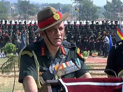 Indian Army Chief Bipin Rawat Talks With Media While His Jammu Visit - Must Watch