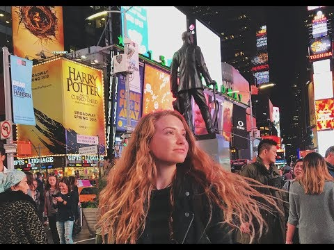 I WAS PUKED ON   NYC VLOG Day Two
