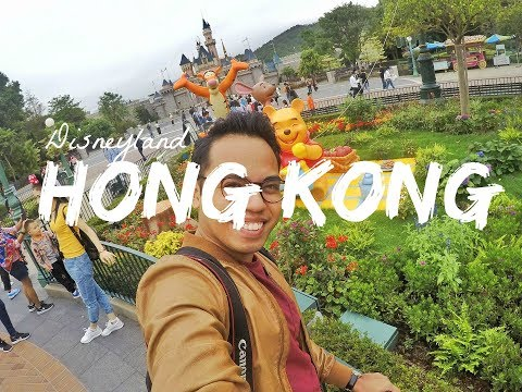 Emirates Cabin Crew Travelogue #46: Hong Kong (Disneyland)