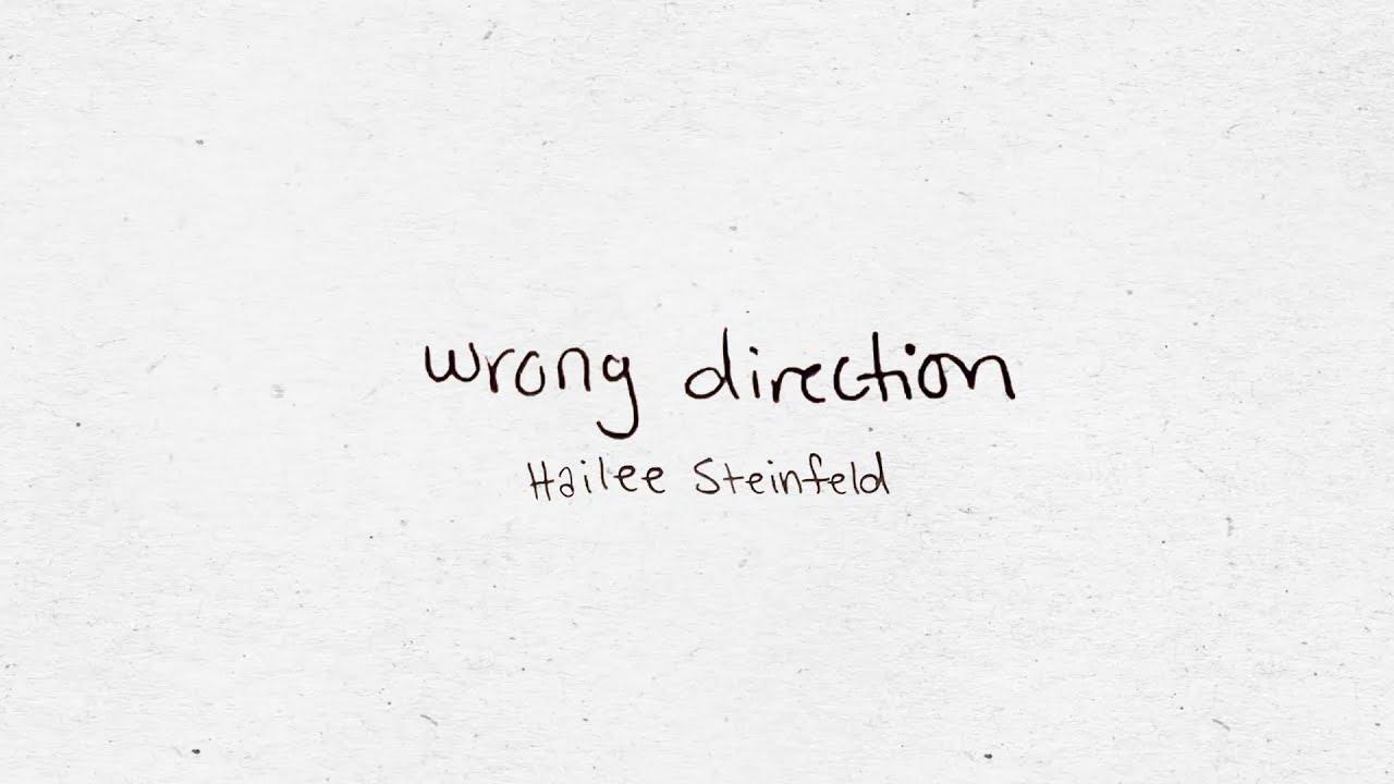 Arti Terjemahan Lirik Lagu Hailee Steinfeld - Wrong Direction