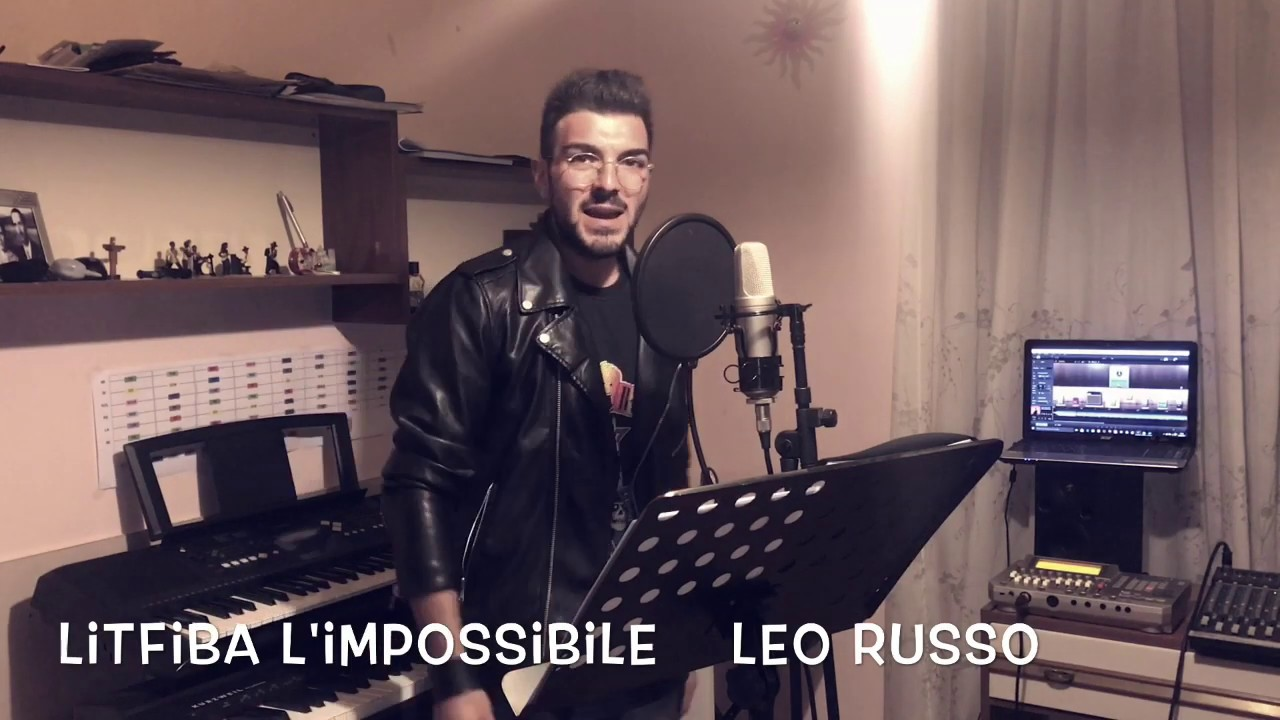 "Litfiba ""L`IMPOSSIBILE"" cover Cartoon Music (LEO)"