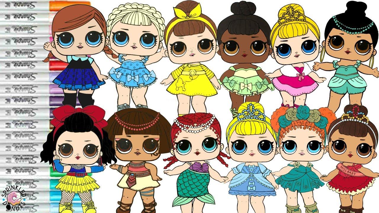LOL Surprise Dolls Repainted as