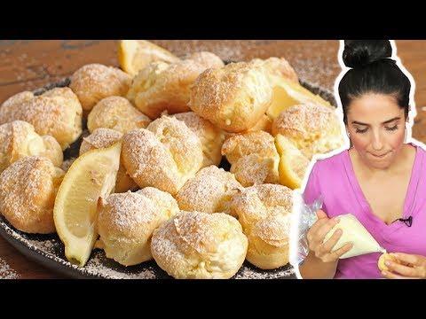 Lemon Cream Puffs   Ep. 1269