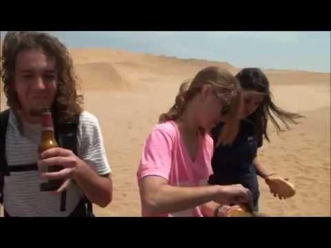 WPI Sandboarding in Namibia 2012