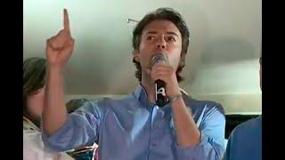 Mensaje de Daniel Quintero Calle, alcalde electo de Medellín, al celebrar su victoria