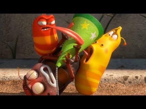 LARVA - CONFETTI POPPERS | Cartoon Movie | Cartoons For Children | Larva Cartoon | LARVA Official