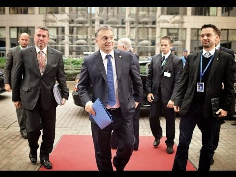"Viktor Orbán: ""OUR ONCE PROUD EUROPE HAS BECOME A BEGGAR."" Malta Summit. 2015. 11. 12"