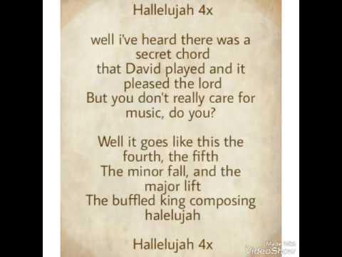 Hallelujah 4th language english, Indonesian, japanese, korean
