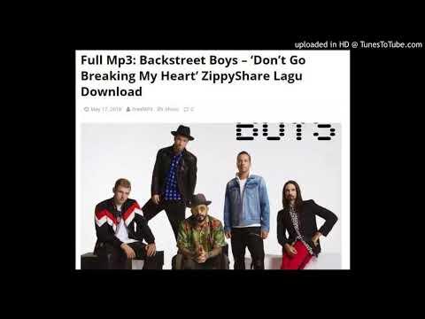 Backstreet Boys – 'Don't Go Breaking My Heart' ZippyShare Lagu Download