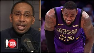 Stephen A. goes off on new LeBron James injury report: 'Why now?!' | Stephen A. Smith Show