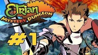 Etrian Mystery Dungeon - Walkthrough Part 1 1st Branch ~ Mysterious Labyrinth [HD]