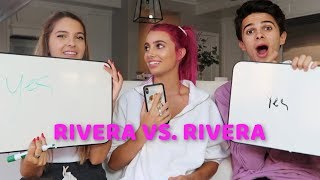 WHICH RIVERA KNOWS ME BETTER??!! LEXI VS. BRENT