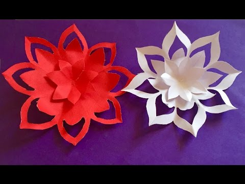 Mothers day gift ideas | How to make a paper Flowers | easy paper flower craft for home decoration