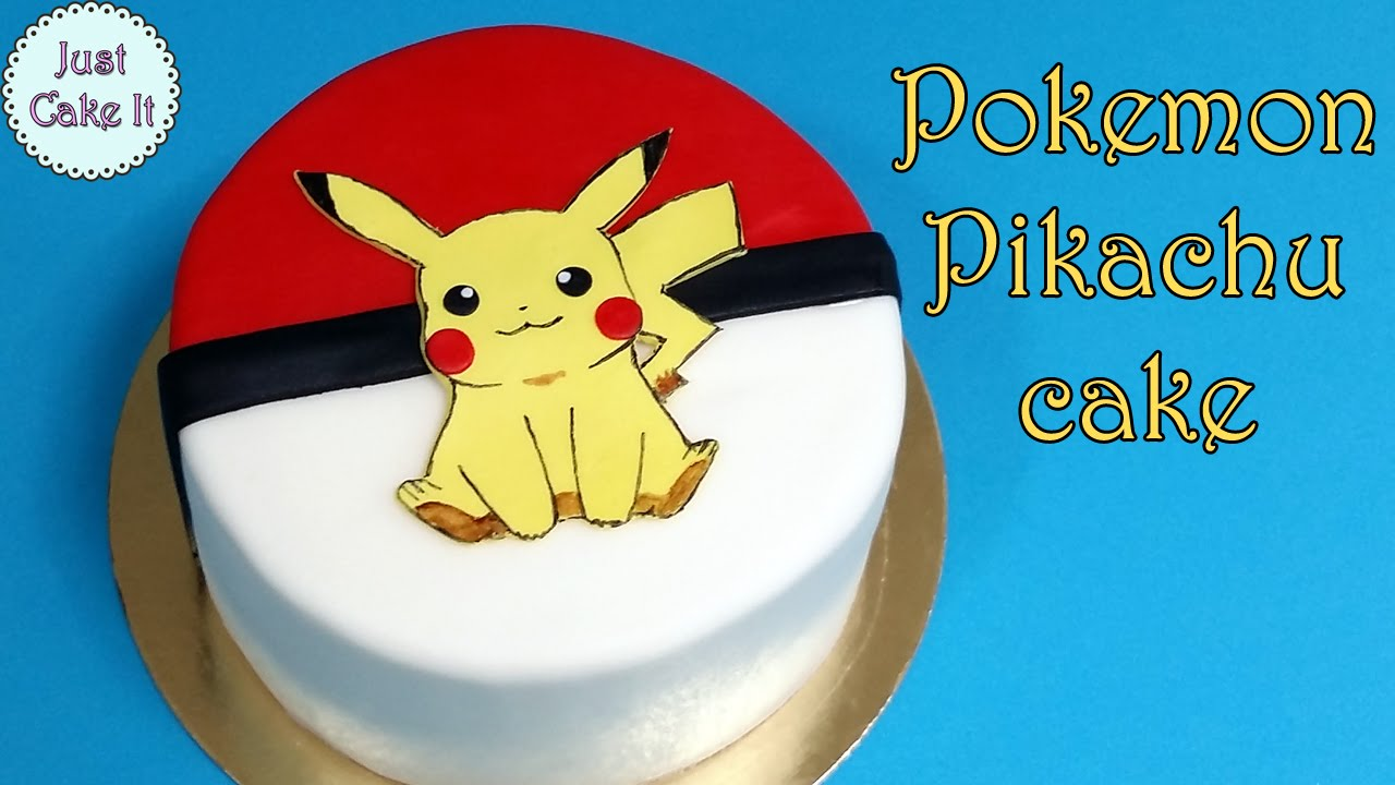 Pokemon Kuchen Rezept How To Make Pokemon Pikachu Cake