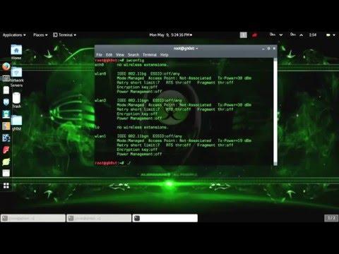 Kali Linux USB Wireless Driver Fix - wlx Mac Address Display Fix