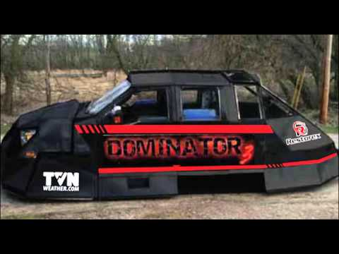Dominator 3 in Kansas City for extra coating before heading back into storms