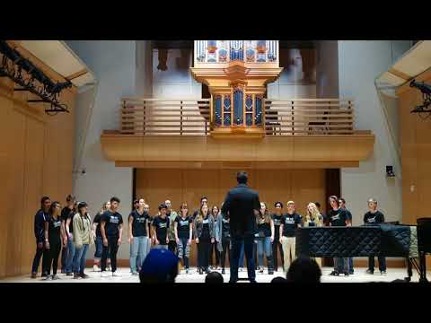 MVHS Advanced Choir: Flower of Beauty at Sonoma State University
