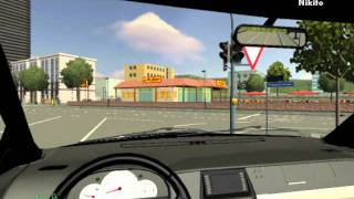 Driving Simulator 2009 Gameplay