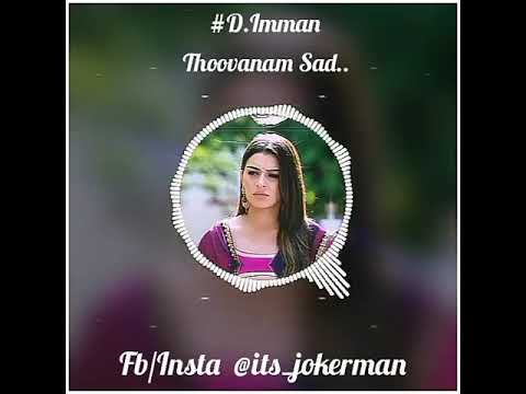 Thoovanam Sad BGM | Audio Spectrum